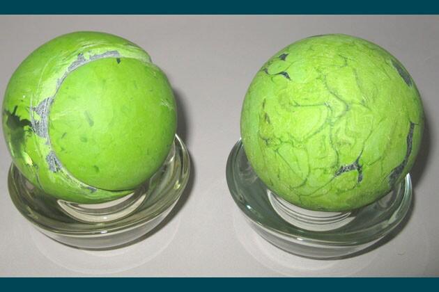 Art From Ashes Tennis Balls