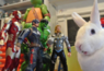 Bunny looks at Avengers characters